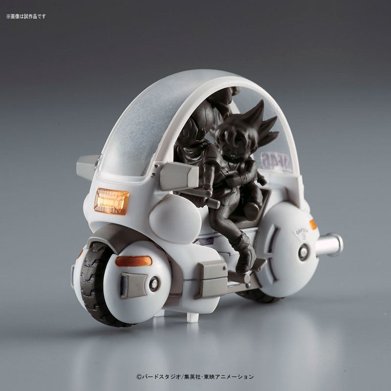 Mecha Collection - Dragon Ball Vol.1 Bulma's Capsule NO.9 Motorcycle Plastic Model