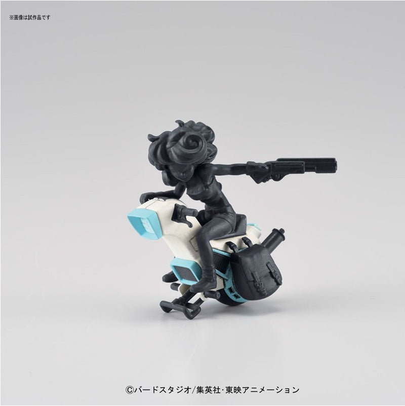 Mecha Collection - Dragon Ball Vol.3 Lunch's 1-wheel Motorcycle Plastic Model