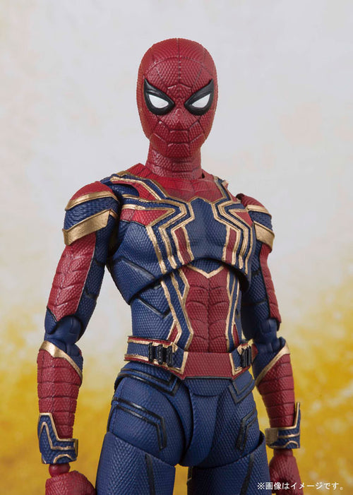 "SH Figuarts ""Avengers: Infinity War"" Iron Spider & Tamashii Stage"