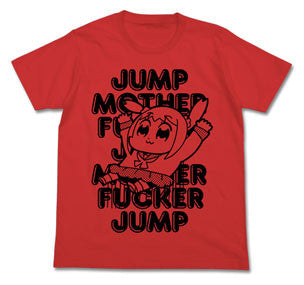 Pop Team Epic - JUMP T-shirt / RED