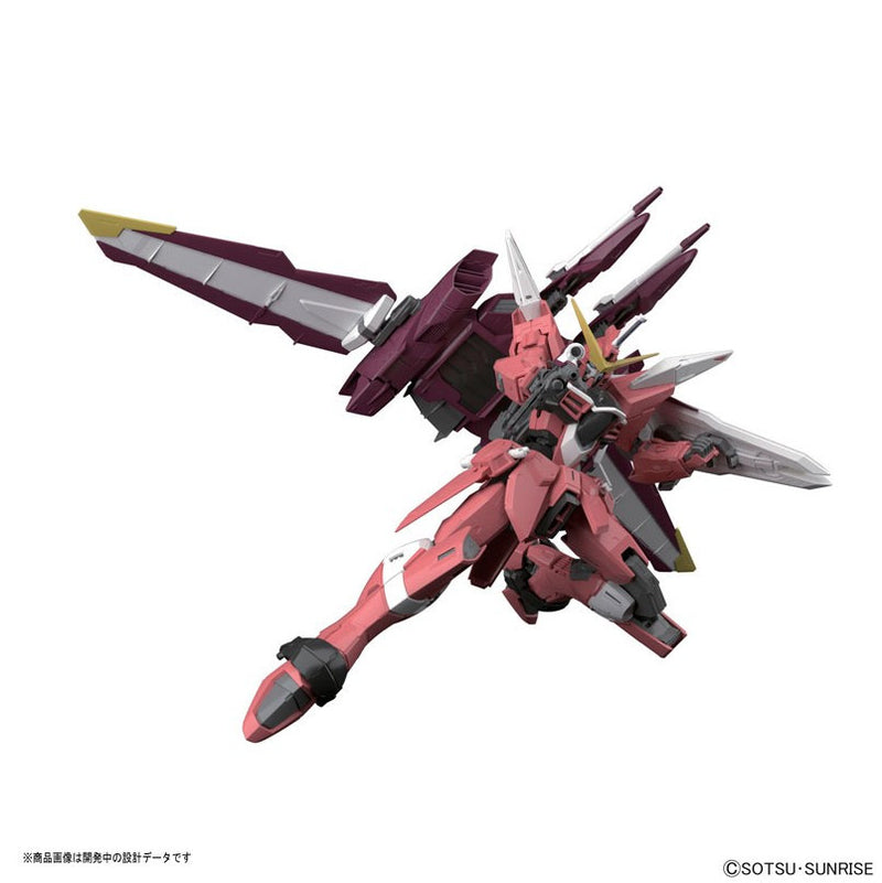 "Gundam MG 1/100 Justice Plastic Model from ""Mobile Suit Gundam SEED"""