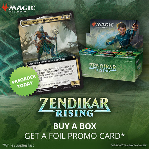 Magic the Gathering - Zendikar Rising Booster Box (Buy-A-Box version)