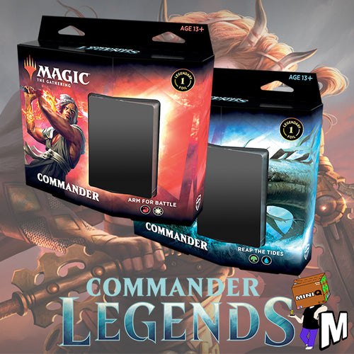 Magic the Gathering - Commander Legends Commander Decks Set of 2
