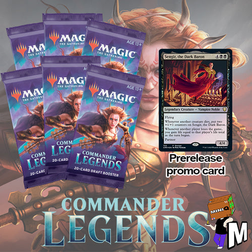 Magic the Gathering - Commander Legends Pre-release (NOV 13)