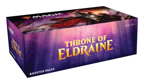 Magic the Gathering - Throne of Eldraine Draft Booster Box (early release 9/27)