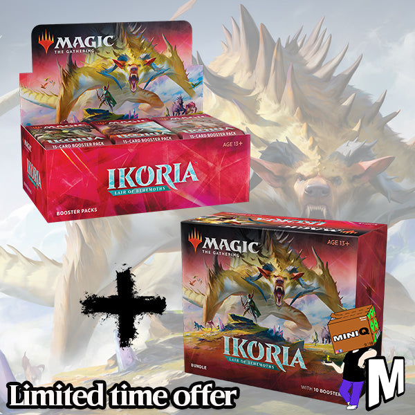 Magic the Gathering - Ikora Lair of Behemonths Booster + Bundle (Buy-A-Box version)