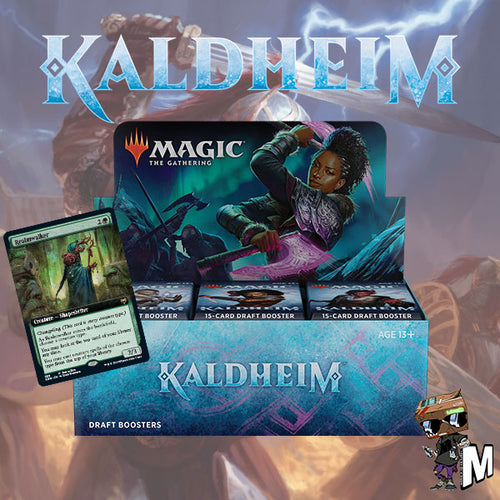 Magic the Gathering - Kaldheim Draft Booster Box (Buy-a-box version)