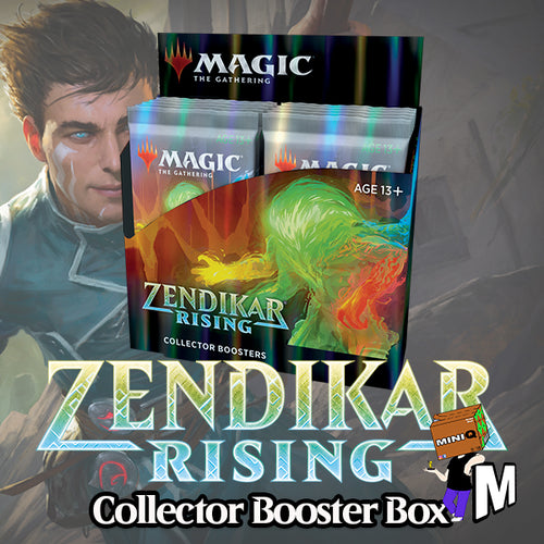 Magic the Gathering - Zendikar Rising Collector Booster Box