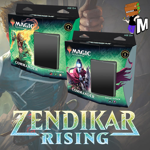 Magic the Gathering - Zendikar Rising Commander Set