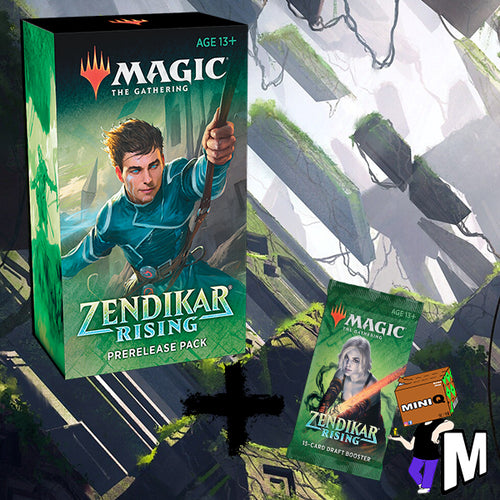 Magic the Gathering - Zendikar Rising Pre-release at home