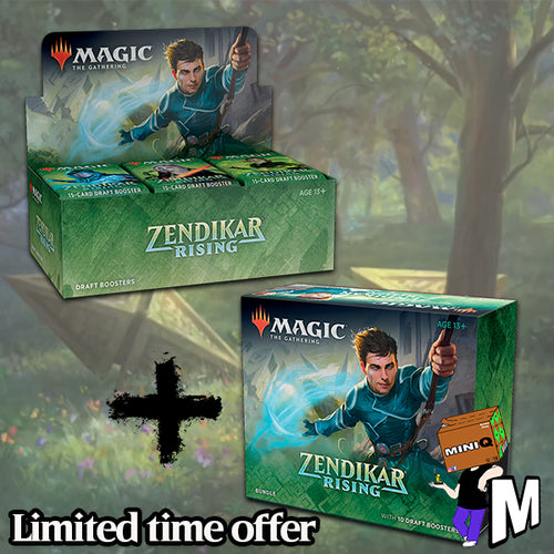 Magic the Gathering - Zendikar Rising Booster Box + Bundle (Buy-A-Box version)