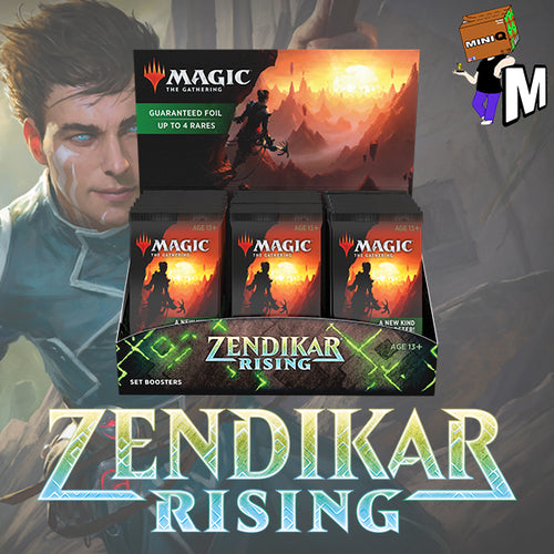 Magic the Gathering - Zendikar Rising Set Booster Box