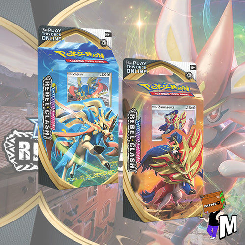 Pokemon Rebel Clash Theme Deck