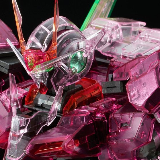 P.Bandai Gundam PG Clear Parts for 00 Riser Trans-Am