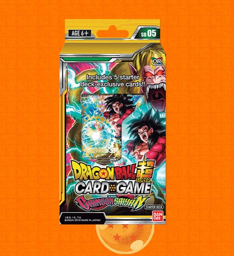 Dragon Ball Super Starter Deck The Crimson Saiyan