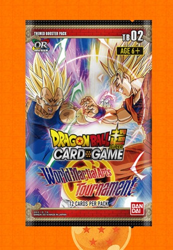 "Dragon Ball Super Themed Booster Box ""World Martial Arts Tournament"""