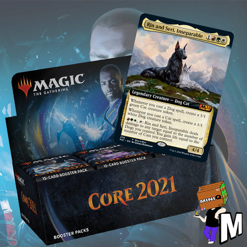 Magic the Gathering - Core 2021 Draft Booster Box (Buy-a-box + Jumpstart version)