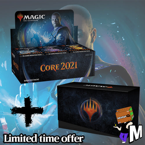 Magic the Gathering - Core 2021 Booster Box + Bundle (Buy-a-box + Jumpstart version)