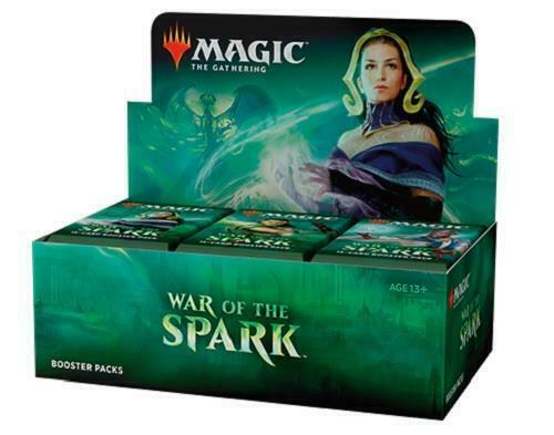 Magic the Gathering War of the Spark Booster Box (early release 4/27)