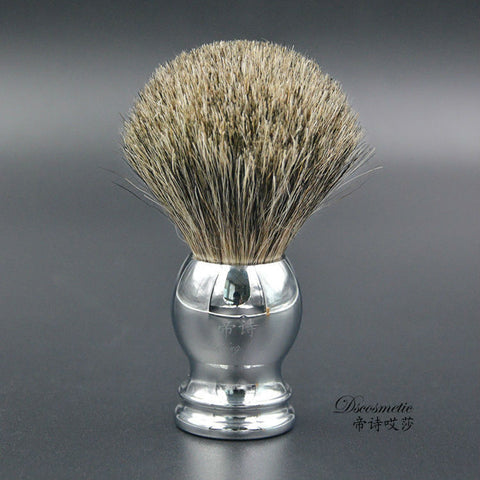 Chrome & Badger Hair Shaving Brush - Shaving Brush - Euphoria's