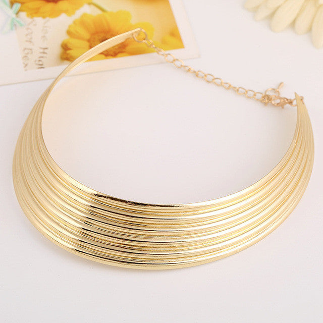 Shiny Chocker Necklace - Necklace - Euphoria's