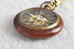 Wood Finished & Bronze Roman Style Pocket Watch - Pocket Watch - Euphoria's