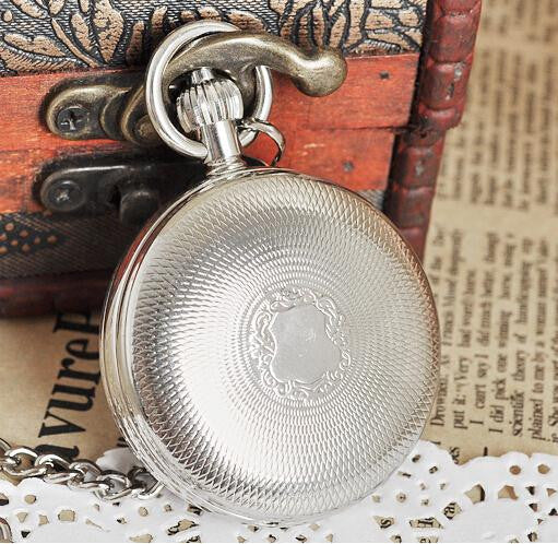 Antique Silver Pocket Watch - Pocket Watch - Euphoria's