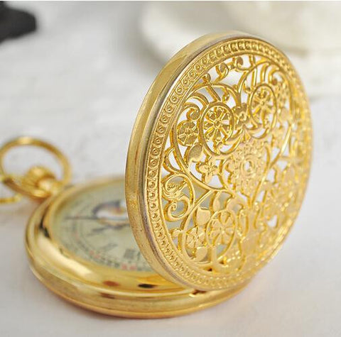 Brilliant Gold Pocket Watch - Pocket Watch - Euphoria's
