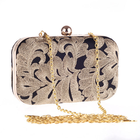 Single Chain Evening Bag - Hand Bag - Euphoria's