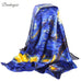 Van Gogh Starry Night Inspired Scarf - Scarf - Euphoria's