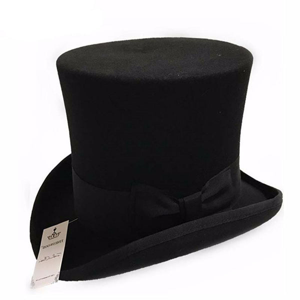 7 Inch Wool Top Hat - Hat - Euphoria's