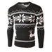 Loldeal Winter Deer Sweater Dark Grey - Wool Sweater - Euphoria's