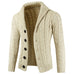 Cream Cardigan Sweater - Wool Sweater - Euphoria's