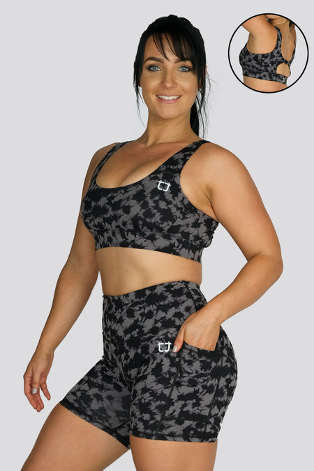 Ladies Dry Sweat V4 Shorts - Charcoal Grey