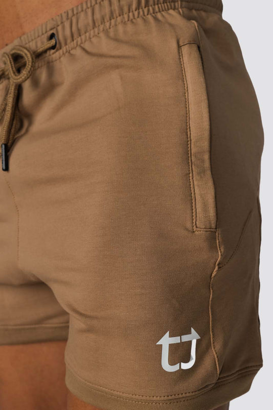 Hybrid V3 Shorts - Tan Khaki