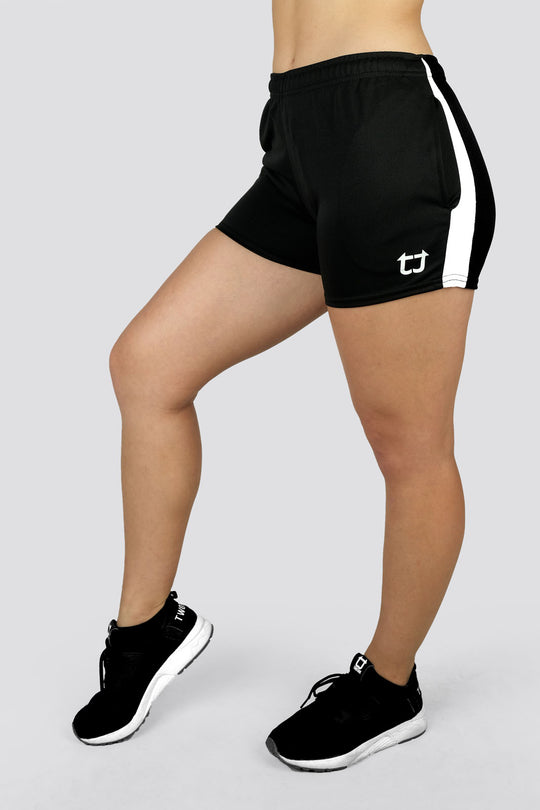 Ladies Dry+ V4 Shorts - Black