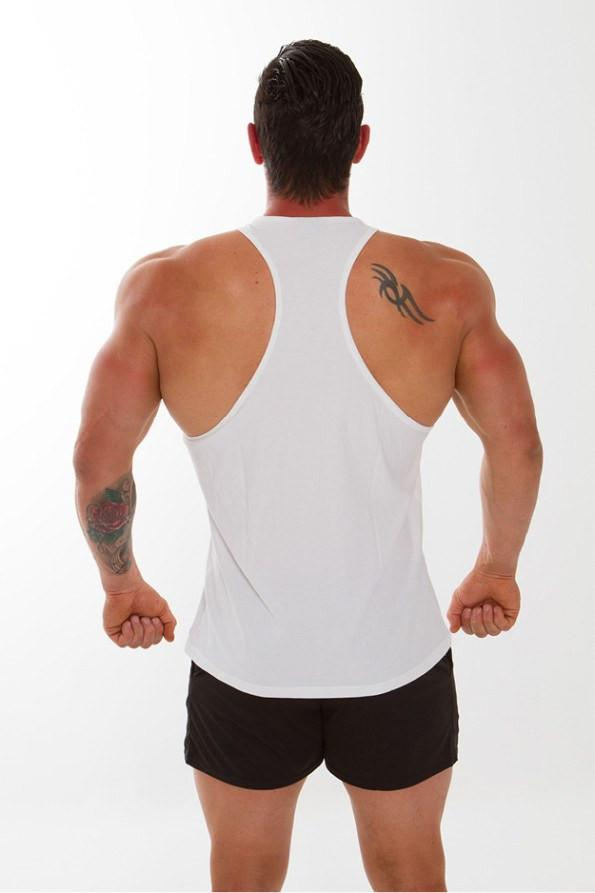 Twotags Workout Stringer - White