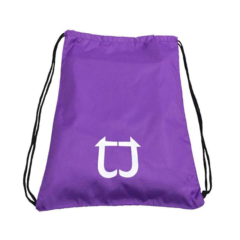 Twotags Gym Drawstring Bag - Purple