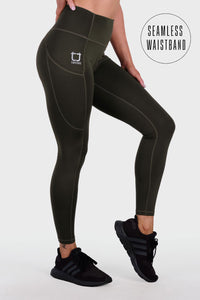 Boost 8/9 Highwaisted Leggings - Avocado