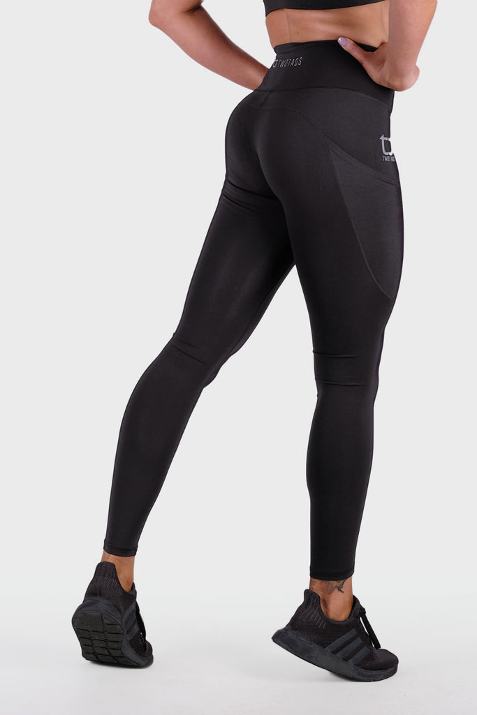 Boost 8/9 Highwaisted Leggings - Black
