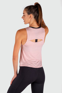 Breezi Tank - Dusty Pink