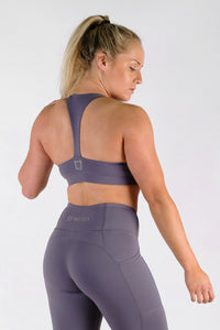 Classic Sports Bras - Periwinkle