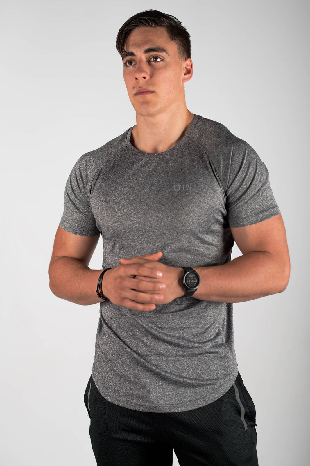 Twotags Cool Sweat V2 T-Shirt - Graphite
