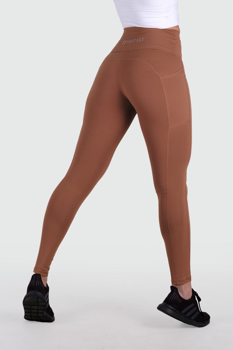 Core V2 Highwaisted Leggings - Copper