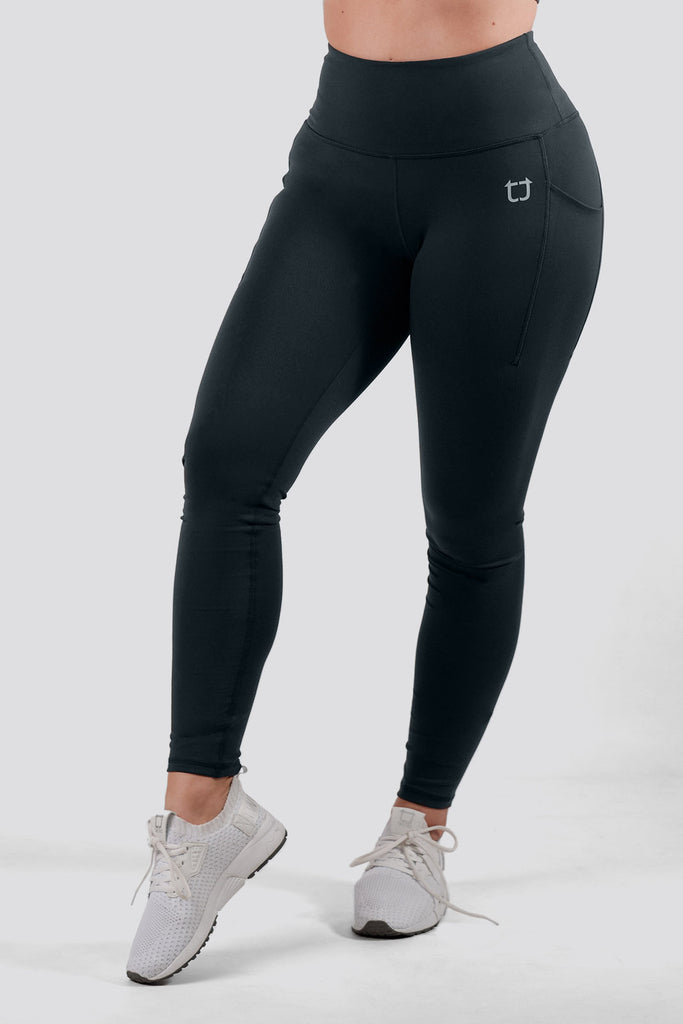 Essential Highwaisted Leggings - Graphite