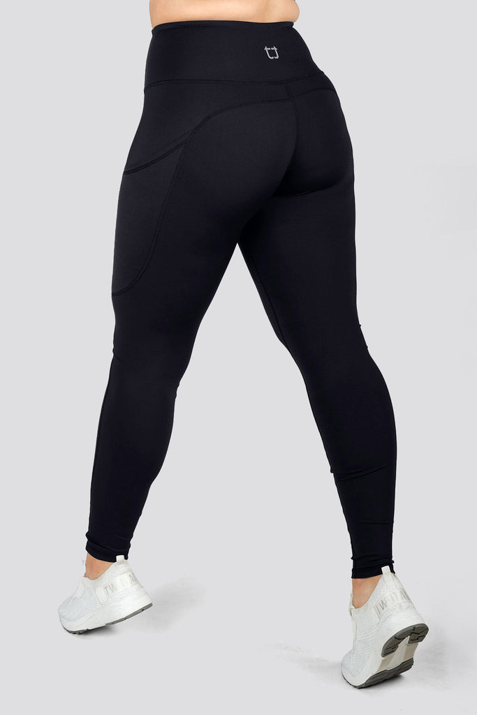 Boost V3 Highwaisted Leggings - Black