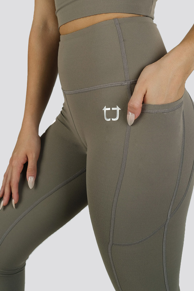Ardor Highwaisted Leggings -Hazel Khaki