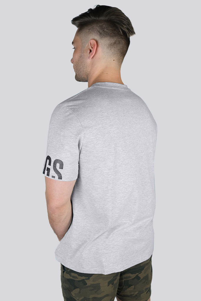 Grafik T-shirt - Heather Grey