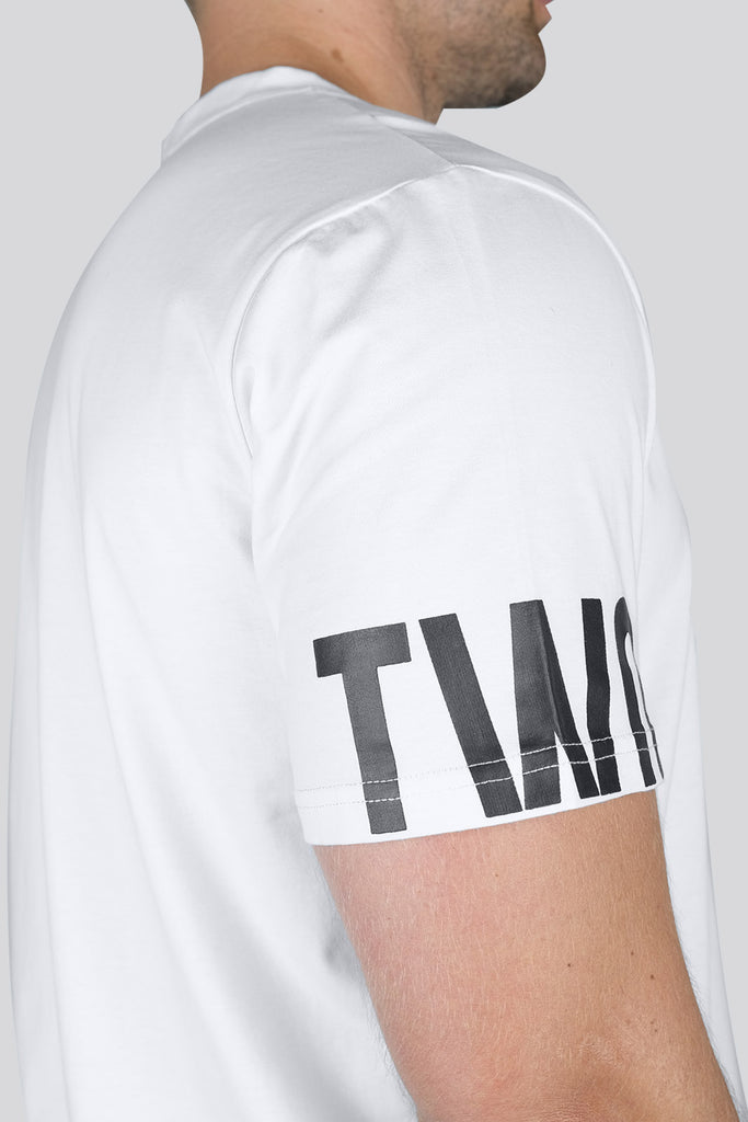 Grafik T-shirt - White