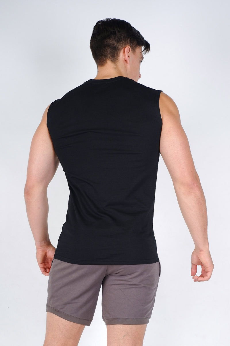 Damage Muscle Tank - Black